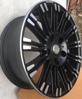 Фото диска Renovatio R11SUV черный с полировкой