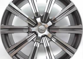 Фото диска Toyota LX2016 серый с полировкой