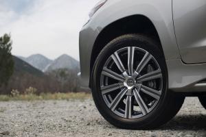 Фото диска Lexus LX2016 серый с полировкой