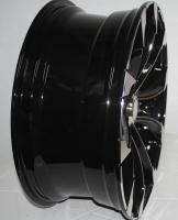 Фото диска Jarret J11C черный с полировкой