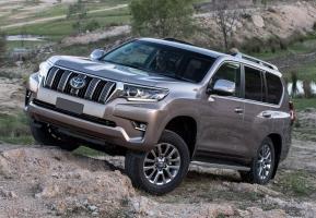 Диск на Toyota landcruiser Prado 2017