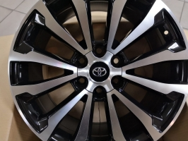 Фото диска Toyota PRD2018 черный с полировкой