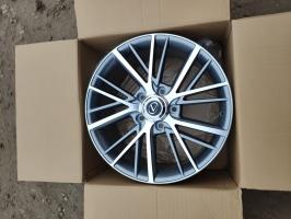 Фото диска Lexus Camstyle серый с полировкой