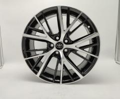 Фото диска Toyota Camstyle черный с полировкой