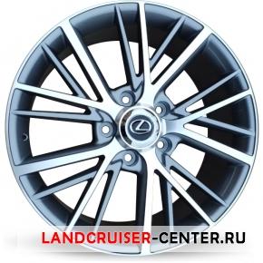 Диск  Lexus Camstyle серый с полировкой