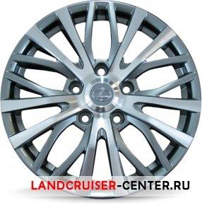 Диск  Lexus D5063 серый с полировкой