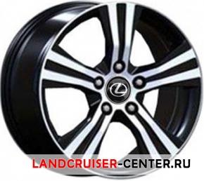 Диск  Lexus LX105 черный с полировкой