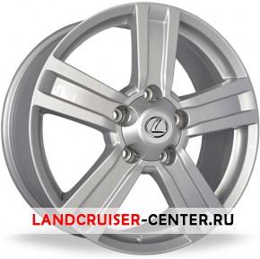 Диск  Lexus LX38 серебристый