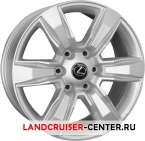 Диск  Lexus LX63 серебристый