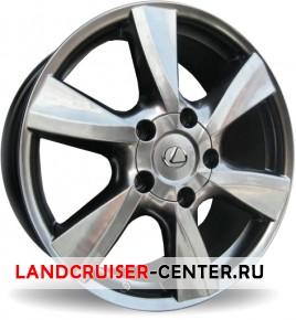 Диск  Lexus S788 насыщенный серый
