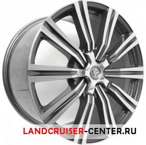 Диск  Toyota LX2016 серый с полировкой